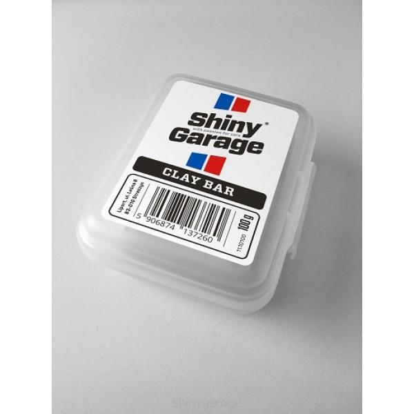 Shiny Garage Clay Bar soft 100g - ílovitá hlina na čistenie laku