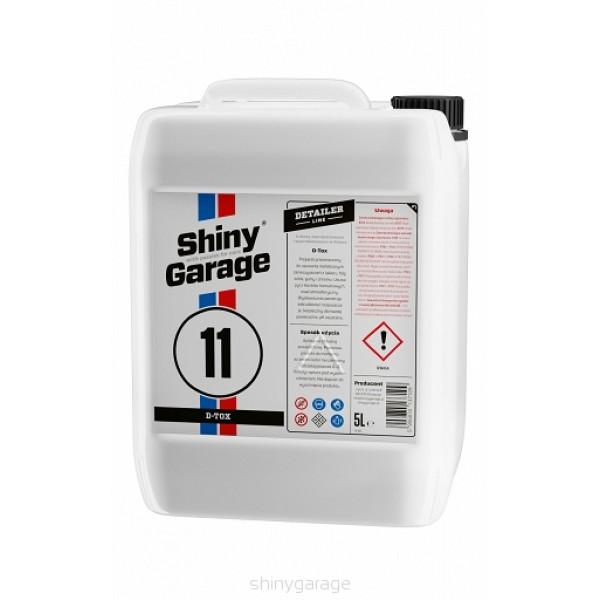 Shiny Garage D-Tox Iron & fallout remover 5L - produkt na chemickú dekontamináciu od náletovej hdrze