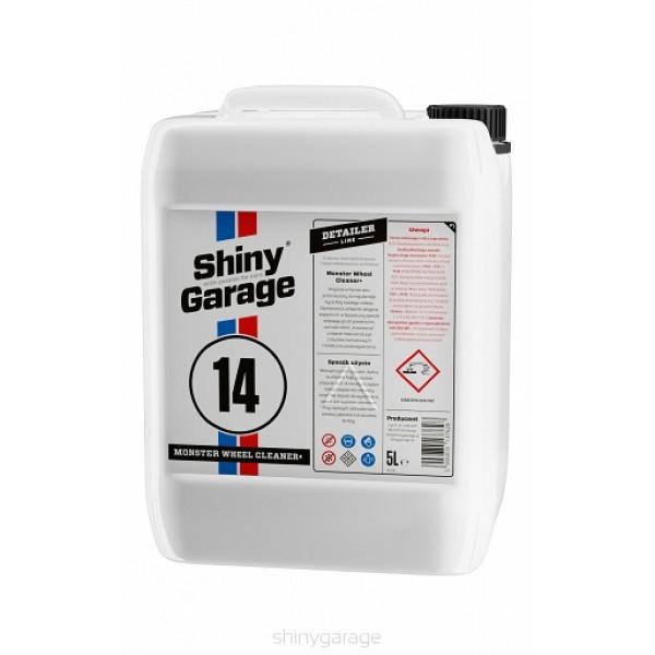 Shiny Garage Monster Wheel Cleaner plus 5L - PH neutrálny čistič diskov