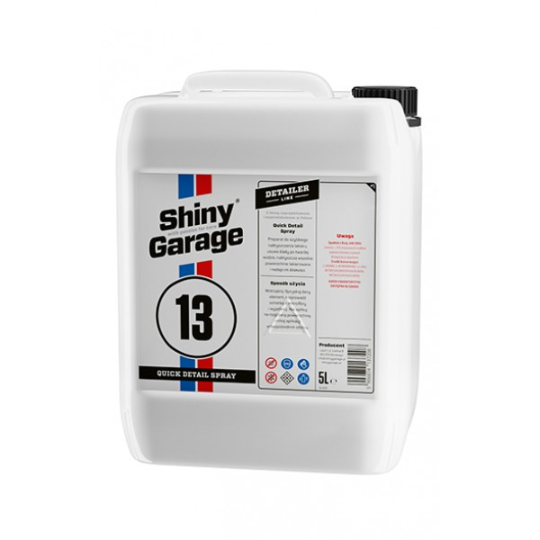 Shiny Garage Quick Detail Spray 5l - detailier na ošetrenie laku