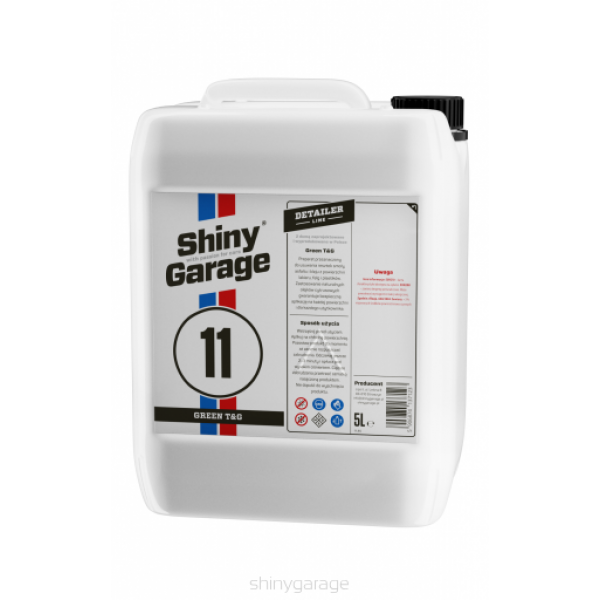 Shiny Garage Green Tar&glue 5L - ostraňovač asfaltu, lepidla a živice