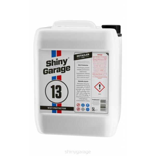 Shiny Garage Wet Protector 5L - nanoochrana na mokrý lak po umytí
