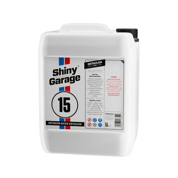 Shiny Garage Interior Quick Detailer 5l - na čistenie a ošetrenie interiéru