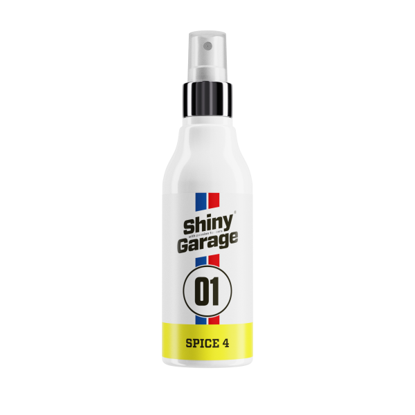 Shiny Garage Spice 4 - vanilka a jablko - osviežovač vzduchu 150ml