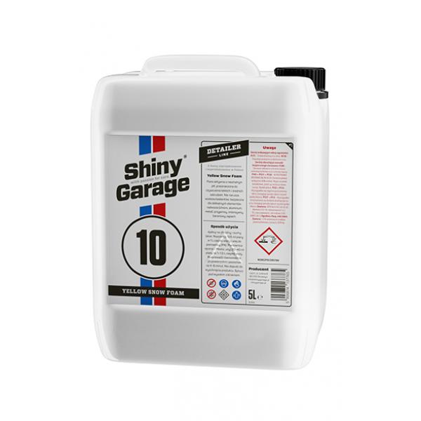 Shiny Garage Yellow Snow Foam 5l - PH neutrálna pena žltej farby